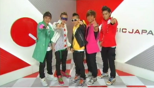 Big Bang on Music Japan