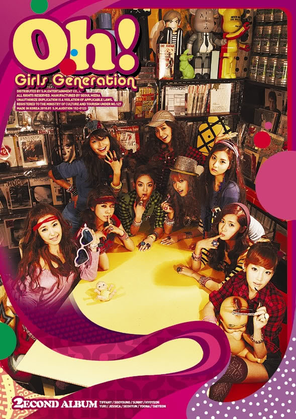 Oh Em Gee! SNSD's 2nd album - Hot or Not?