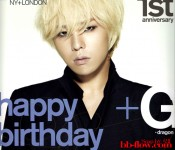 G-Dragon celebrates his birthday with Nylon