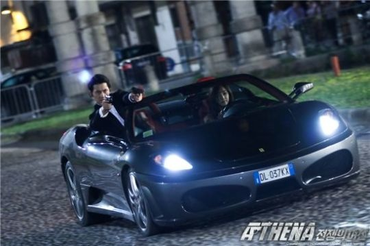 "Scenes From Upcoming Spy Drama ""Athena: Goddess of War"""