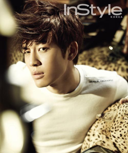 Se7en Does His Best Zoolander Impression for InStyle Korea