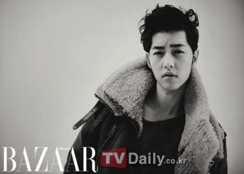 Song Joong-ki, a suave rebel for Bazaar