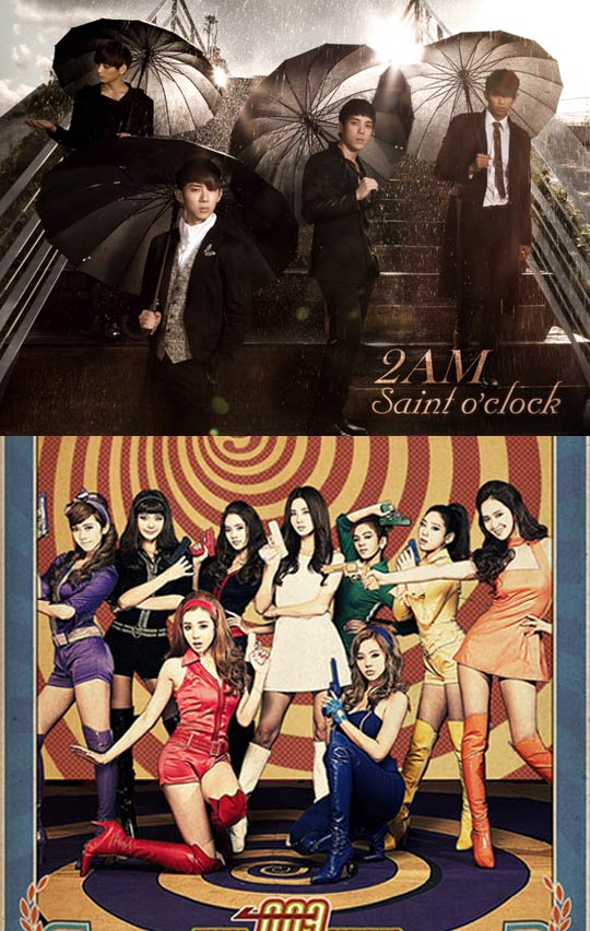 2AM trumps Girls' Generation?