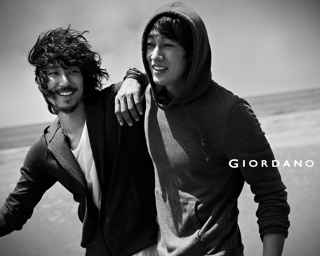Tiger JK, Shin Minah, and So Ji-sub for new Giordano campaign