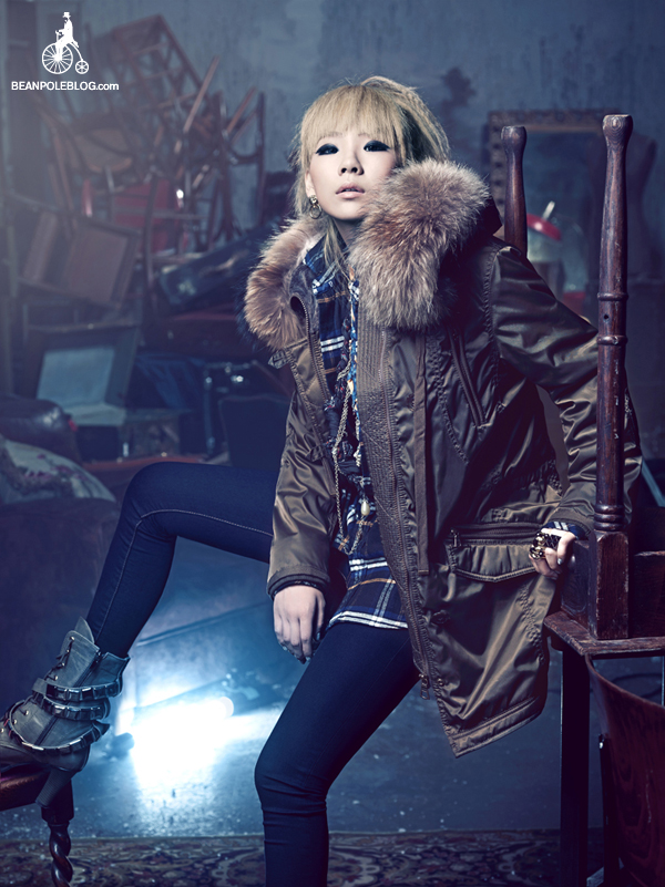 [Photos] 2NE1 works it again for Bean Pole