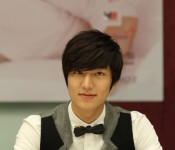 Lee Minho uses his good looks to help solve social issues