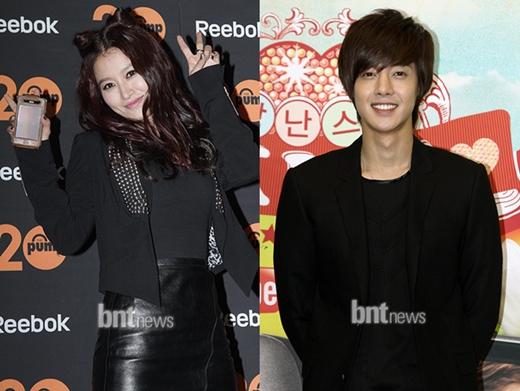 kim hyun joong and hwangbo dating 2010 mustang