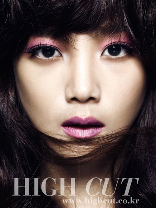 Yoon Seung-ah for HIGH CUT