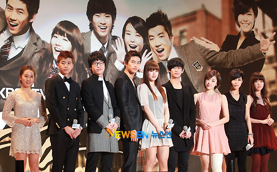 Dream High meets the Press