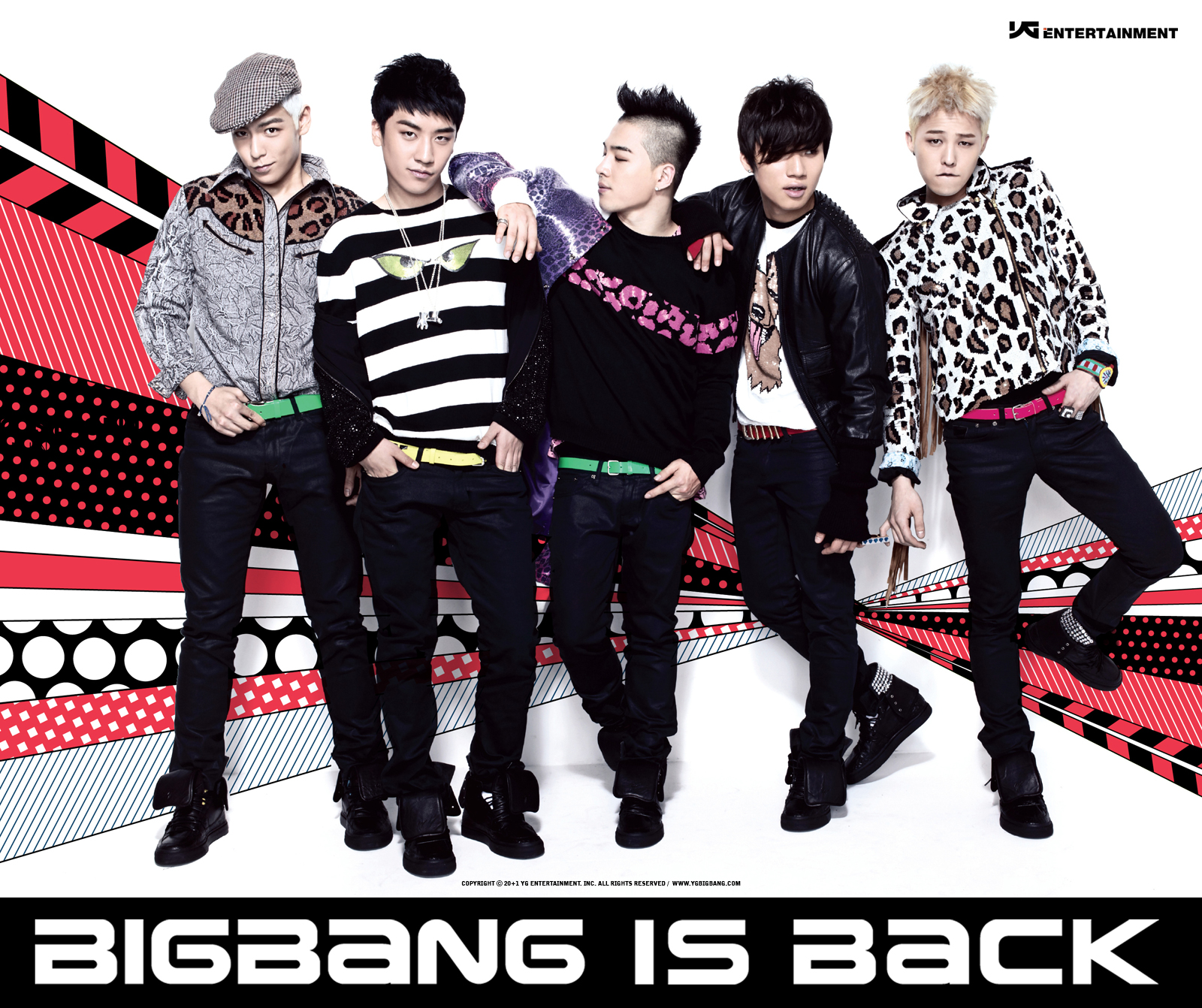 [Photos] Big Bang is Back Promo Shots