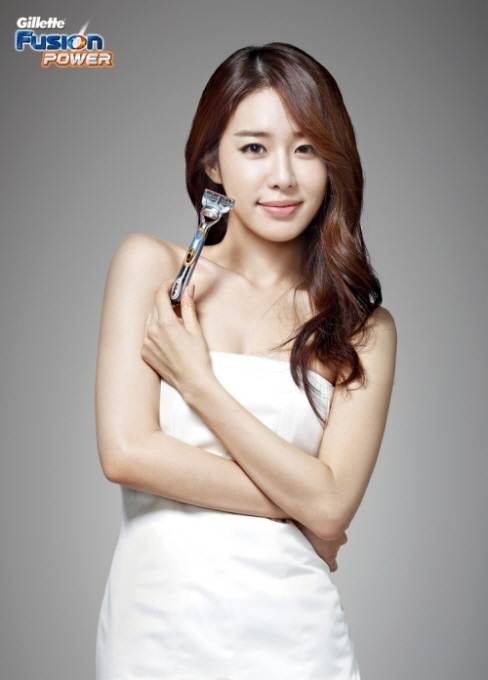 Yoo In-na for Gillette – Seoulbeats