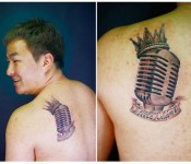 [Photo] Heo Gak has got a tat