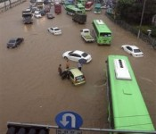 Korea Plagued with Flooding