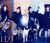 2NE1's whimsical Elle shoot