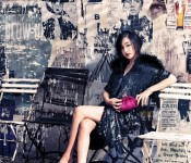 Su Ae is a D&G Kind of Girl for Vogue