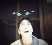 Siwon Choi Gives Fans The Bird