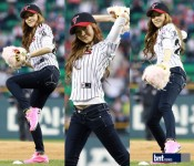 Ceremonial Baseball Pitches: K-pop Wins and Losses