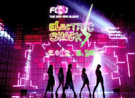 "f(x)'s ""Electric Shock"" Doesn't Have Enough Juice – seoulbeats F(x) Electric Shock Album Cover"