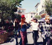 2NE1 Does France in High Fashion