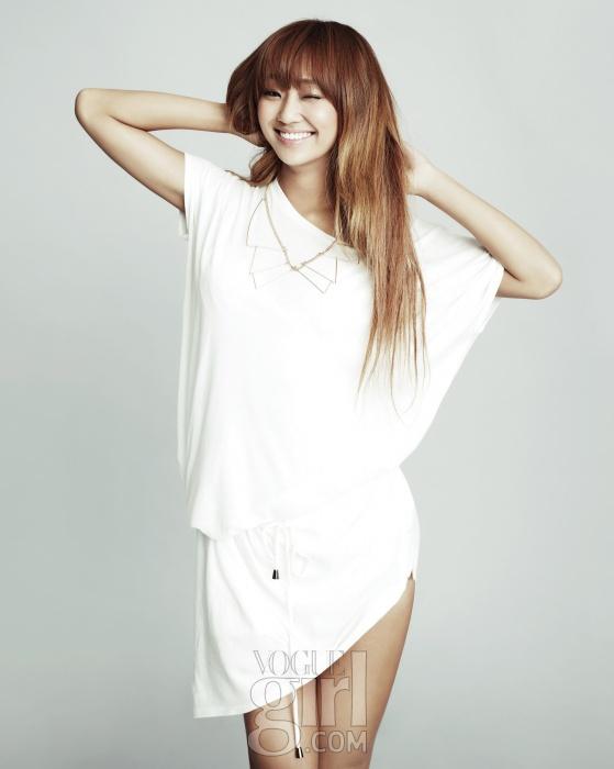Sistar Keeps it Simple for Vogue Girl – Seoulbeats Hyorin Sistar