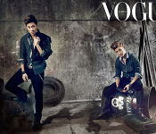 Homin Look Suave for Vogue Korea