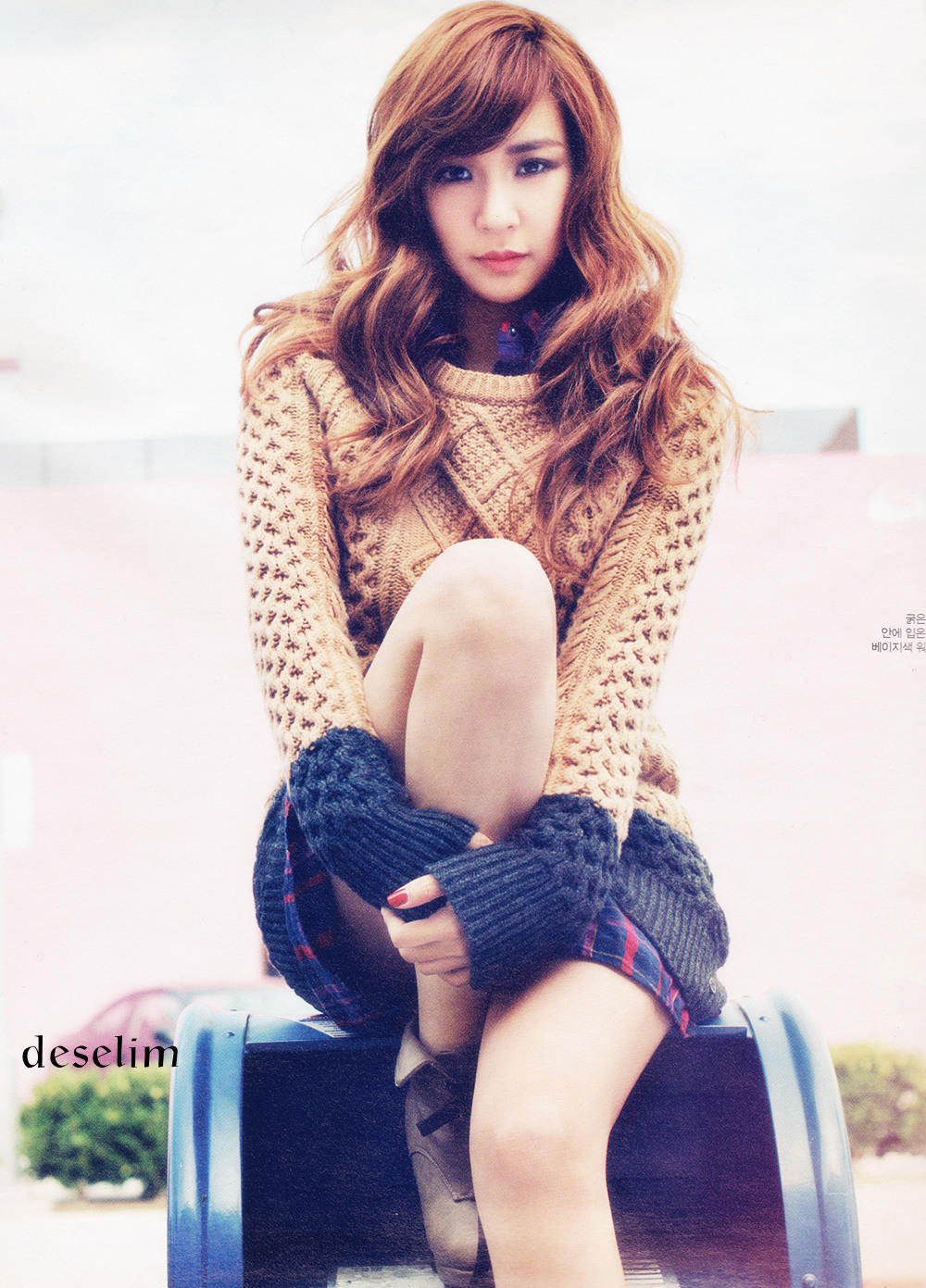 SNSD's Tiffany Models for W Korea – seoulbeats