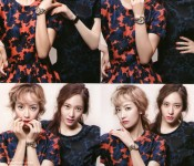 Krystal and Victoria Show Their Love for Marie Claire