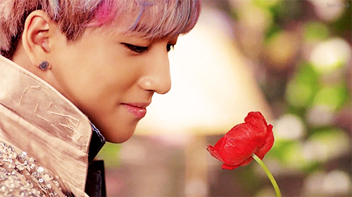 Baro B1a4 Tried To Walk  B1a4 Baro Pink Hair