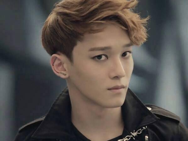 Exo Chen Growl Gif To Wolf and Growl era