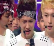 Exo Wins First Music Show Trophy