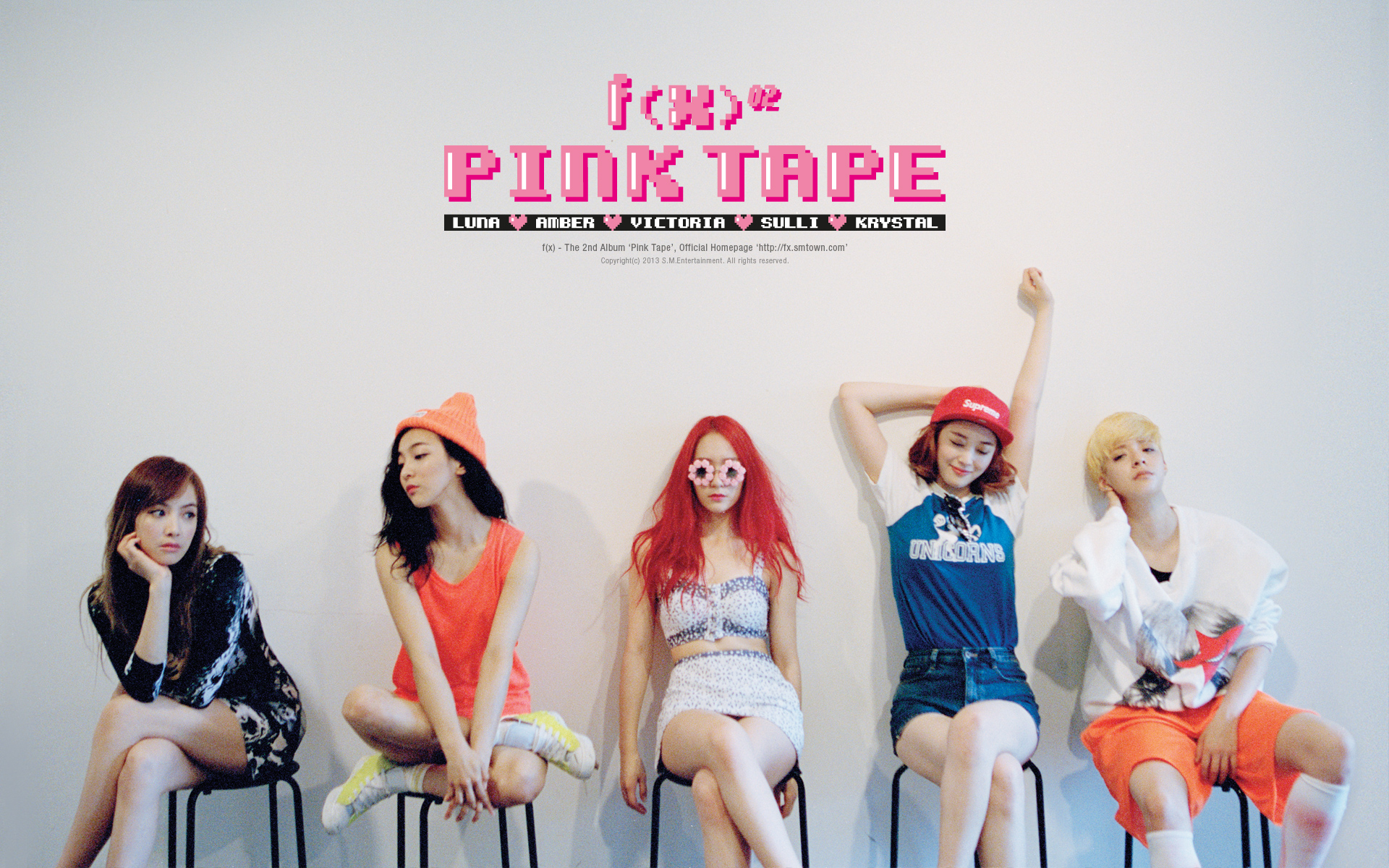 "Popping In f(x)'s ""Pink Tape"" – seoulbeats F(x) Amber Pink Tape"