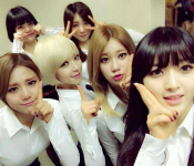 AOA Receives First Music Show Win on Inkigayo