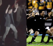 "Tony Testa Teaches Exo the ""Haka"""