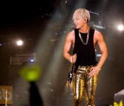 Taeyang's First Solo Concert in Singapore Blasts Off