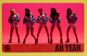 "EXID Plays with Censorship in ""Ah Yeah"""