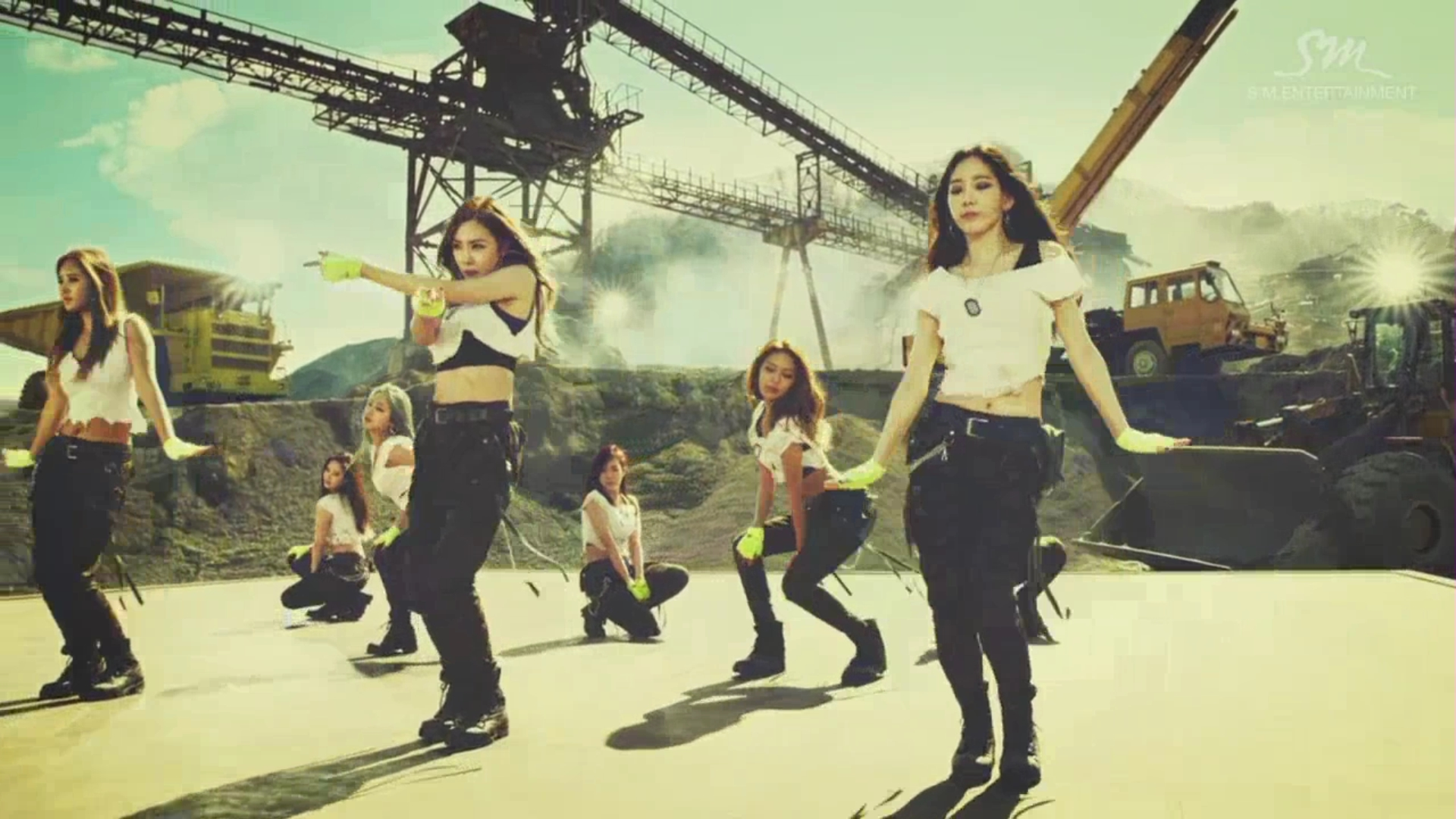 Snsd Change Direction In Catch Me If You Can Seoulbeats