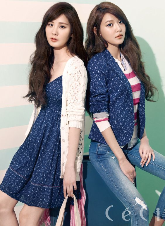 Seohyun and Sooyoung | CeCi
