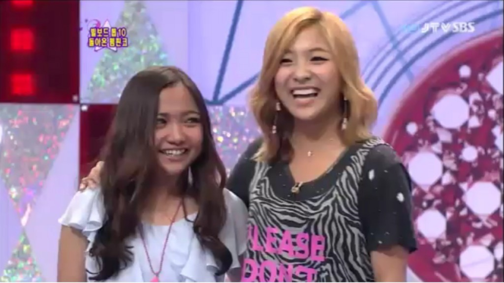 Luna And Charice Face Off On Star King Seoulbeats