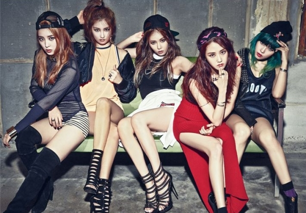 4Minute Hot Issue Valentine Kpop Hyuna